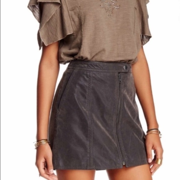 Free People Dresses & Skirts - Free People Get Into The Groove Mini Skirt